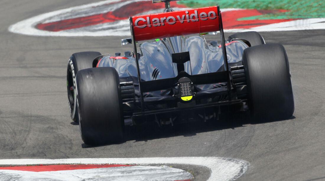 Sergio Perez - McLaren - Formel 1 - GP Deutschland - 6. Juli 2013