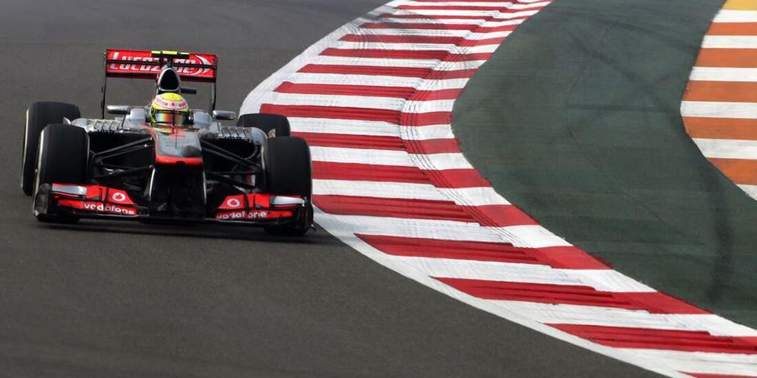 Sergio Perez - McLaren  - Formel 1 - GP Indien - 25. Oktober 2013