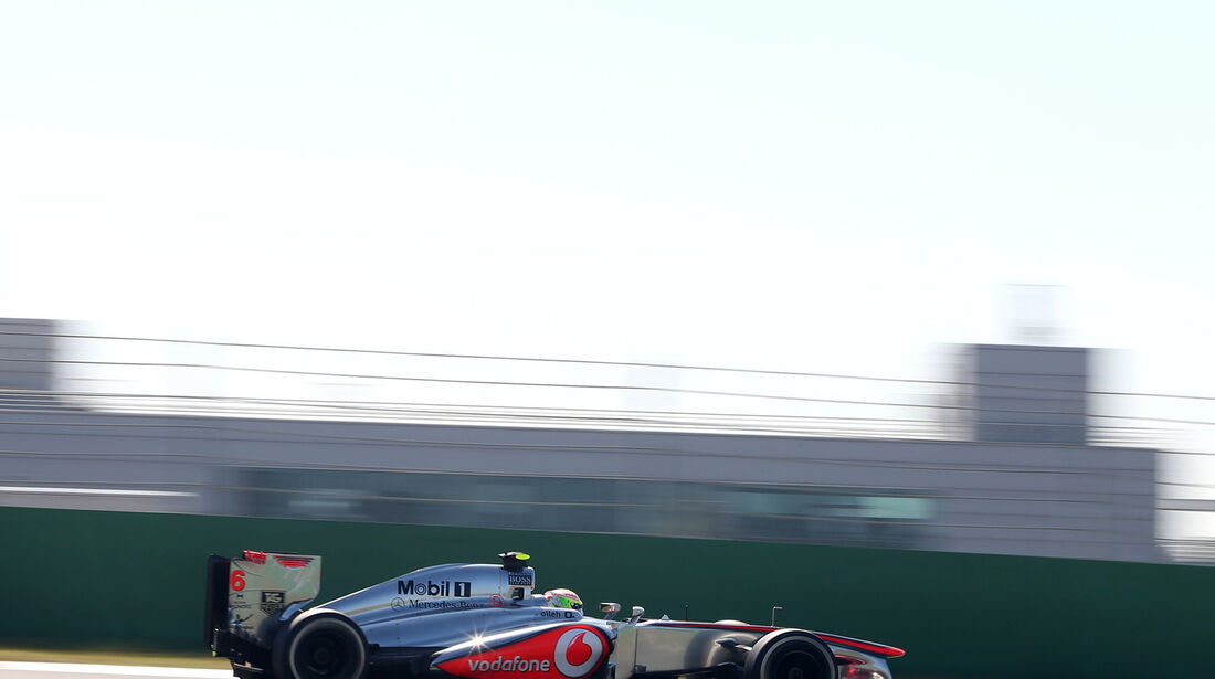 Sergio Perez - McLaren - Formel 1 - GP Korea - 4. Oktober 2013