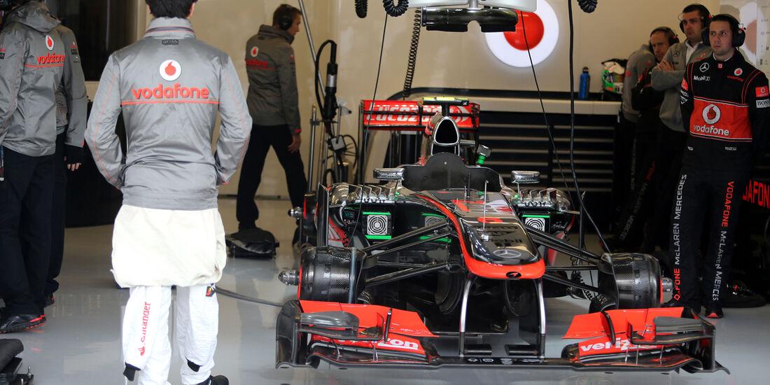 Sergio Perez - McLaren - Formel 1 - GP USA - 15. November 2013