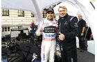 Sergio Perez & Mika Häkkinen - F1 Live Show - London - 2017