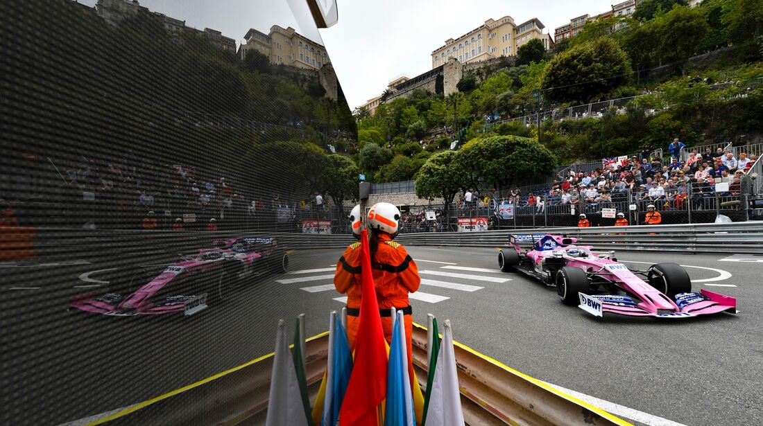 Sergio Perez - Racing Point - Formel 1 - GP Monaco - 23. Mai 2019