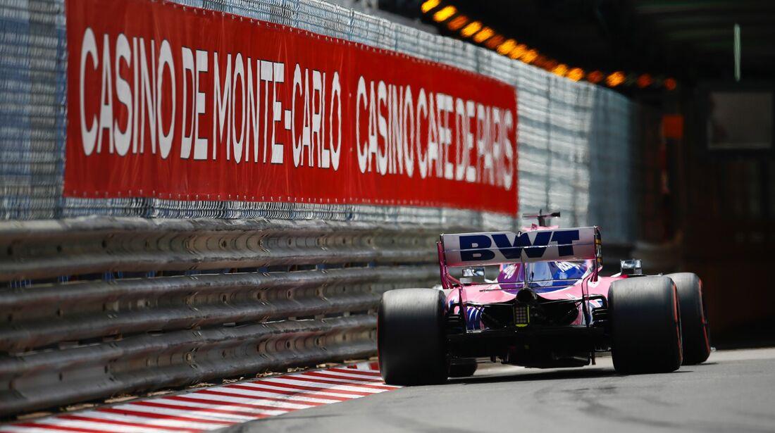 Sergio Perez - Racing Point - Formel 1 - GP Monaco - 25. Mai 2019