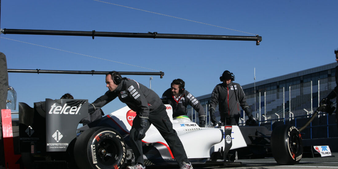Sergio Perez - Sauber - F1-Test Jerez 2012