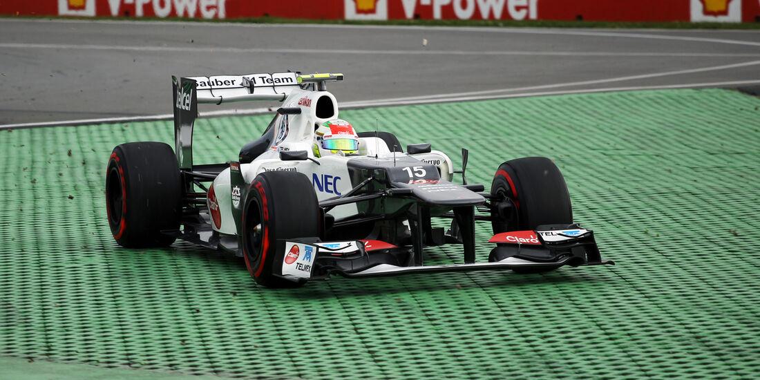 Sergio Perez - Sauber - Formel 1 - GP Kanada - 8. Juni 2012