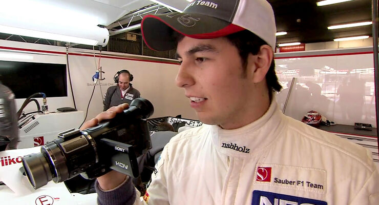 Sergio Perez Screenshot Sauber-Film