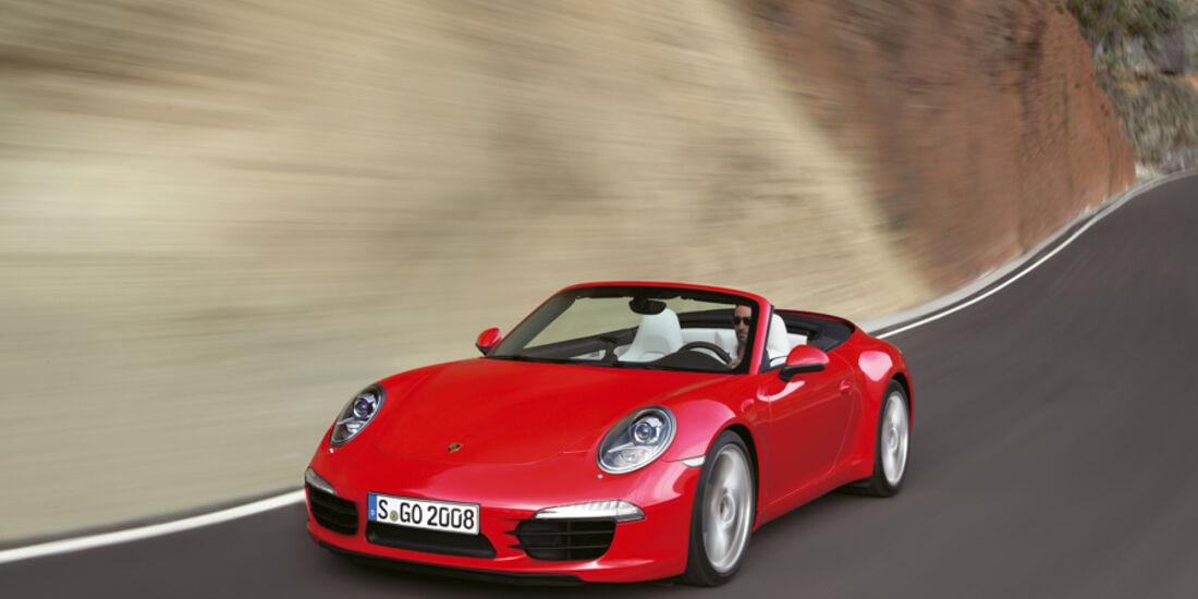 Serienfahrzeuge Cabrios bis 130 000 € - Porsche 911 Carrera S Cabriolet