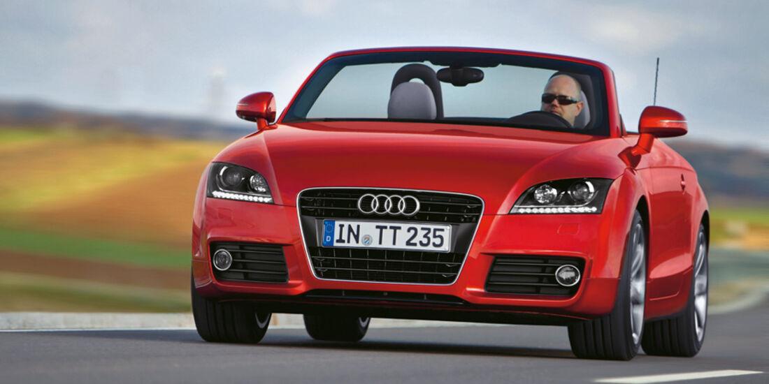 Serienfahrzeuge Cabrios bis 40 000 € - Audi TT Roadster 2.0 TFSI