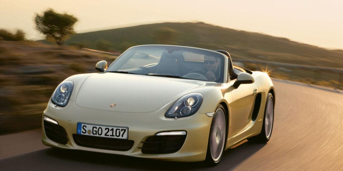 Serienfahrzeuge Cabrios bis 60 000 € - Porsche Boxster S
