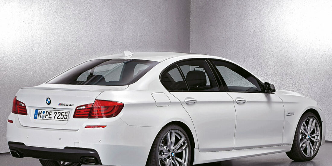 Serienfahrzeuge Diesel - BMW M550d xDrive