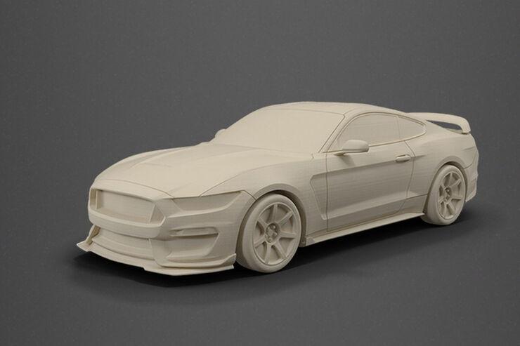 Shelby GT 350R 3D-Drucker