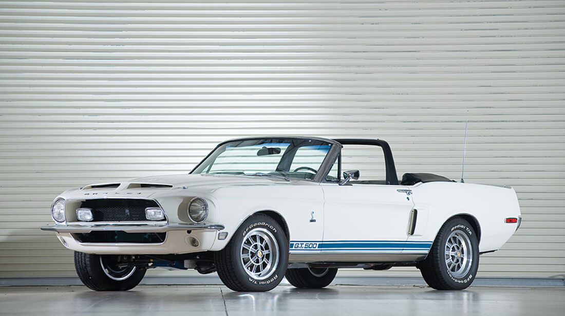 Shelby GT 500 Convertible (Frontansicht)