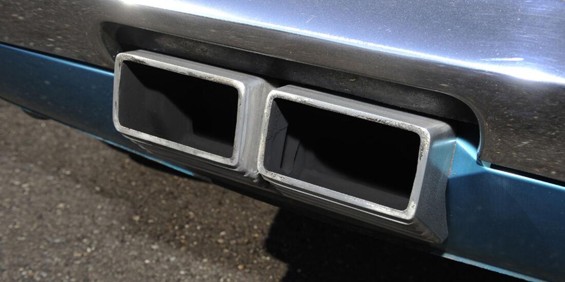 Shelby Mustang GT 500, Baujahr 1969, Auspuff