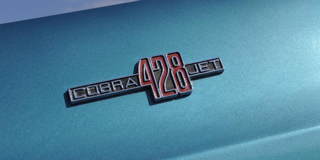 Shelby Mustang GT 500, Baujahr 1969, Schriftzug