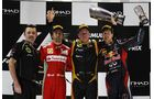 Siegerehrung  - Formel 1 - GP Abu Dhabi - 04. November 2012