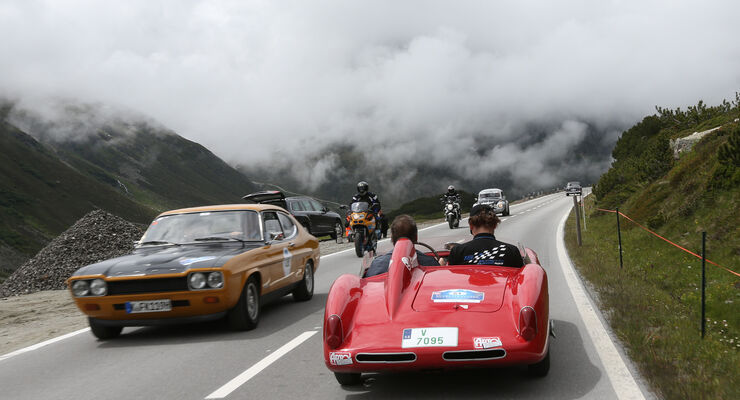 Silvretta Classic, Ford Capri, Skoda 1100 OMC