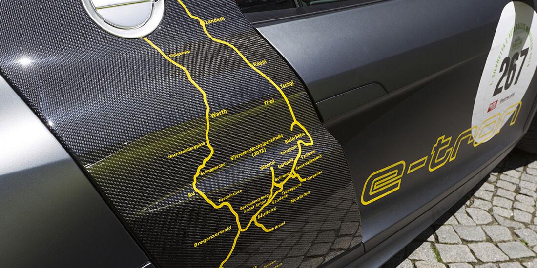Silvretta E-Auto 2010, Elektroauto, E-Auto, Audi E-Tron