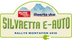 Silvretta E-Auto Rallye Montafon 2010 - Logo