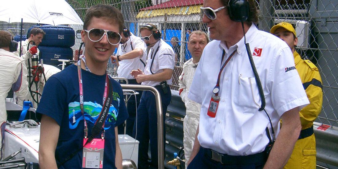 Simon Ammann beim GP Monaco
