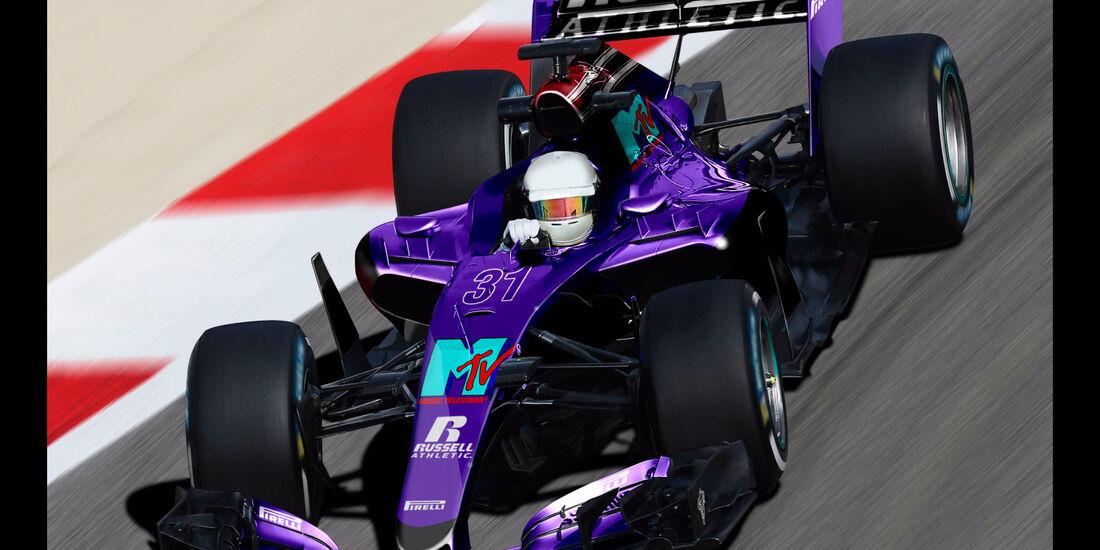 Simtek - Formel 1 2017 - Designs - Sean Bull
