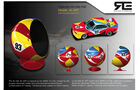 Sitzkugel BMW CSL 3.0 Art Car