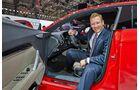 Sitzprobe Audi TT Sportback