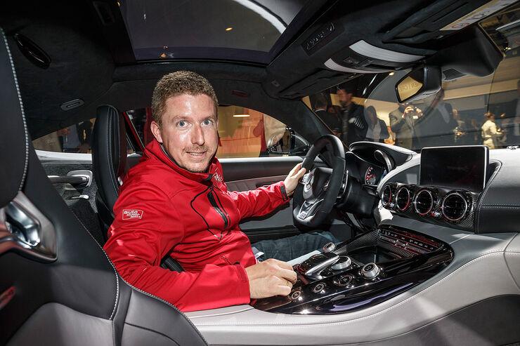 Sitzprobe Mercedes-AMG GT: Eine halbe Nummer kleiner