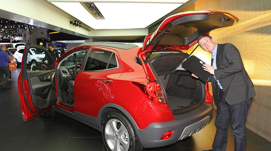 Sitzprobe Opel Mokka