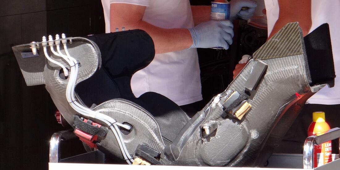 Sitzschale - Mercedes - GP Spanien - 10. Mai 2012