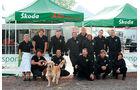 Skoda Fabia S 2000, Rallye DM, Rallye Saarland, Servicezelt, Skoda-Team