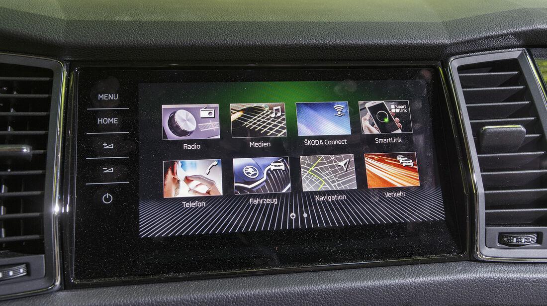 Skoda Kodiaq 2.0 TDI 4x4 DSG, Interieur
