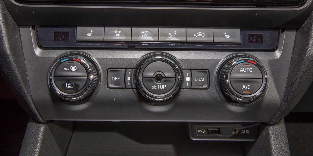 Skoda Octavia 1.4 TSI, Klimaautomatik