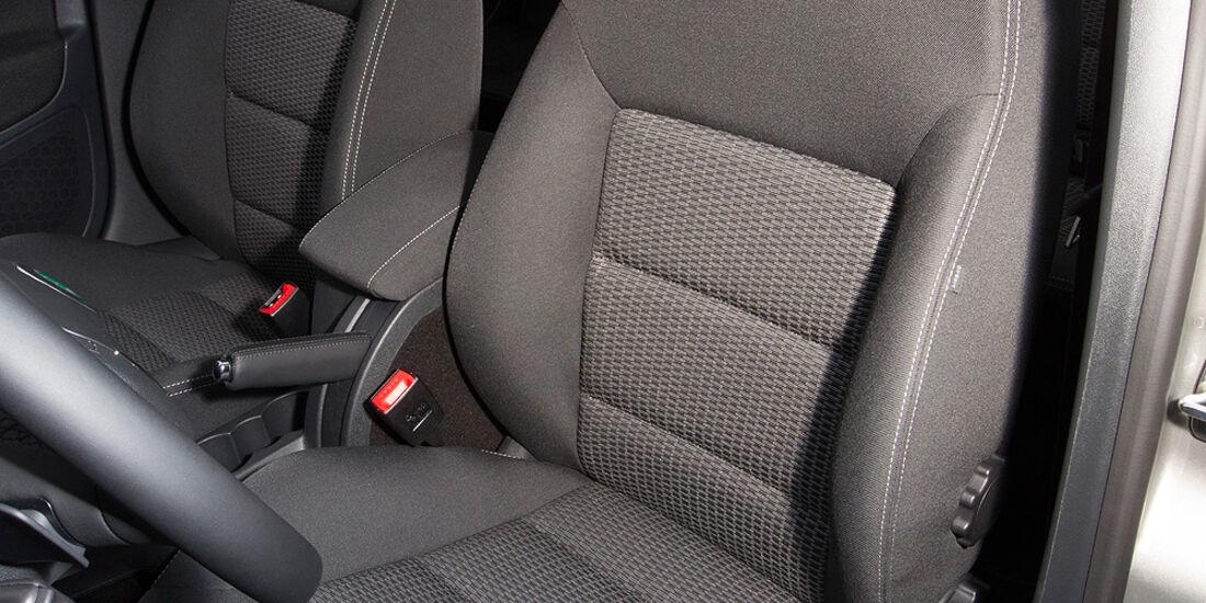 Skoda Octavia Combi 2.0 TDI, Fahrersitz