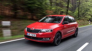 Skoda Rapid Spaceback Facelift (2017)
