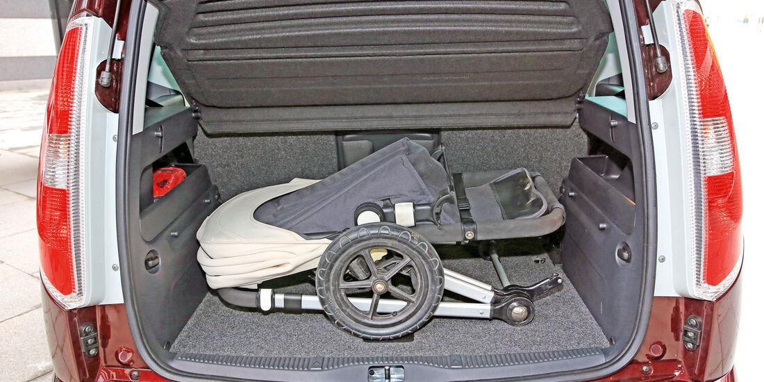 Skoda Roomster 1.6 TDI, Kofferraum