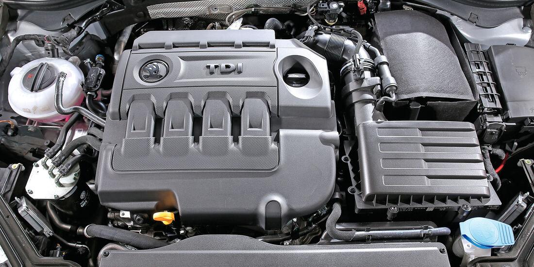 Skoda Superb Combi 2.0 TDI, Motor