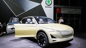 Skoda Vision E Concept, Elektroauto, Studie, IAA 2017