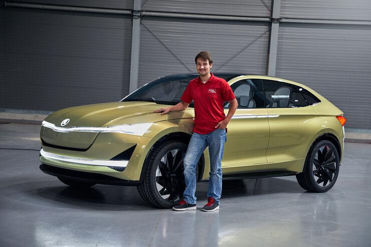 Skoda Vision E, Fahrbericht, Concept-Car