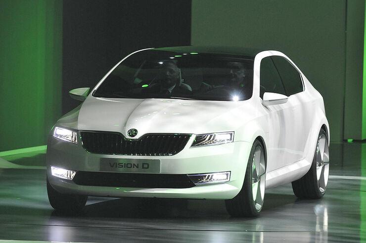 Skoda VisionD Conceptcar Genf 2011