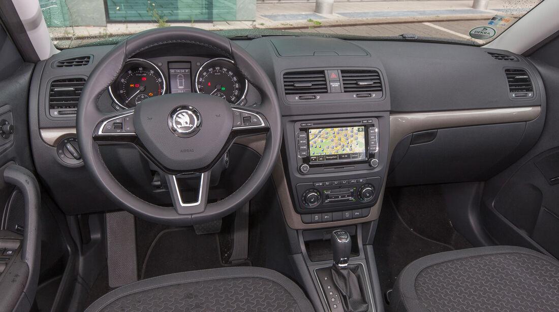 Skoda Yeti 1.4 TSI, Cockpit