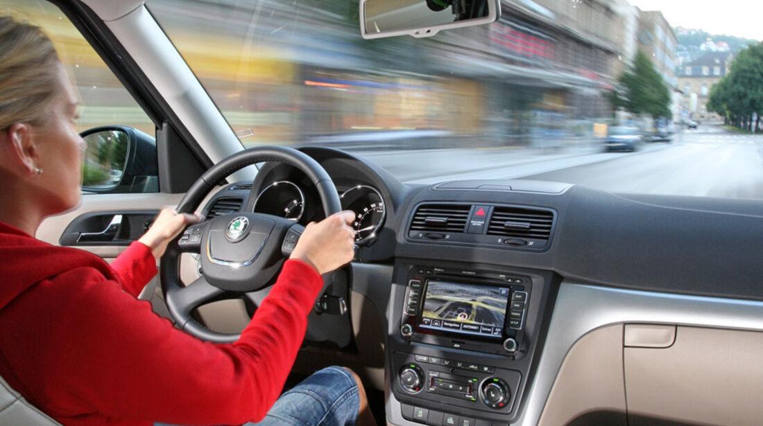 Skoda Yeti 1.8 TSI Fahrersitz