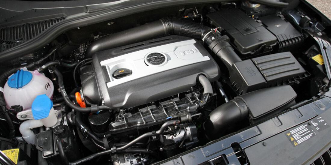 Skoda Yeti 1.8 TSI Motorraum
