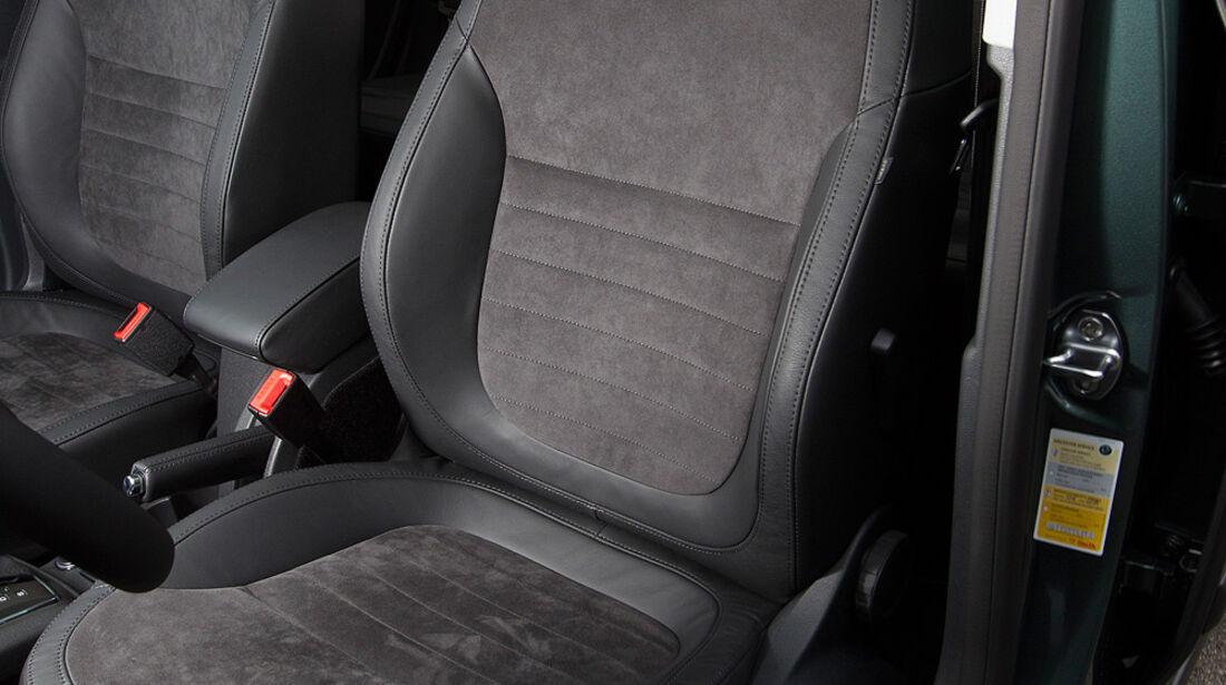 Skoda Yeti 2.0 TDI Greentec, Fahrersitz