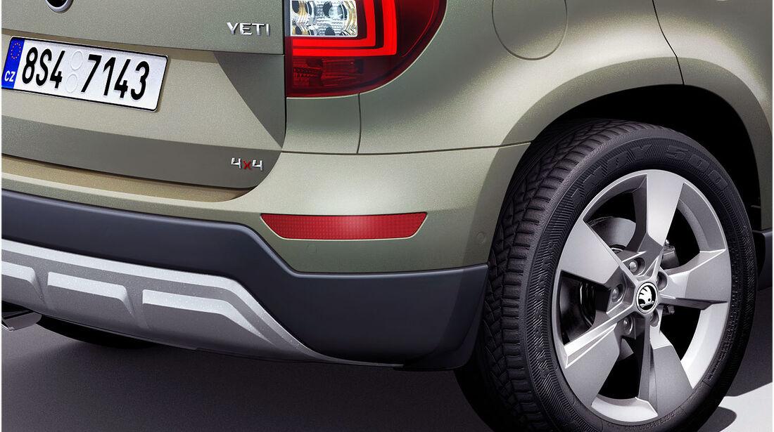 Skoda Yeti Facelift 2013 IAA