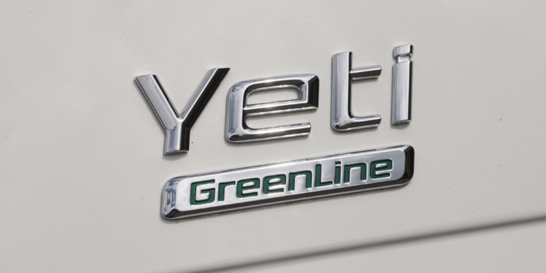 Skoda Yeti Greenline, Emblem