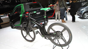 Smart Brabus E-Bike, Autosalon Genf 2012, Messe, Tunner, Smart, Brabus