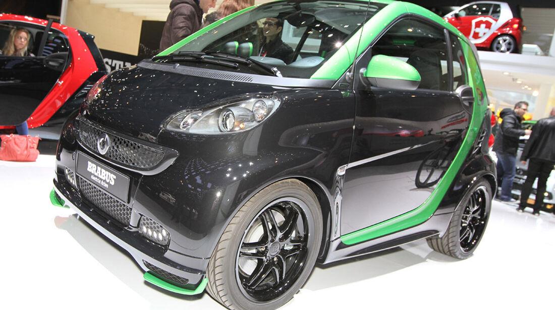 Smart Brabus Electric Drive, Autosalon Genf 2012, Messe, Tuner, Smart, Brabus