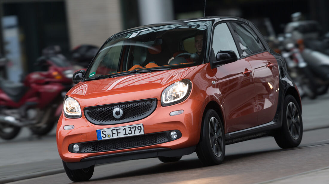 Smart Forfour 0.9, Frontansicht
