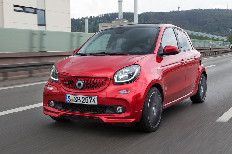 Smart Forfour Brabus, Frontansicht
