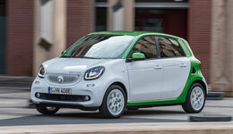 Smart Forfour Electric Drive, Seitenansicht
